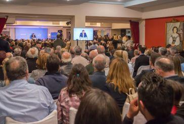 Κοσμοσυρροή στην ομιλία του Σπήλιου Λιβανού στο Μεσολόγγι