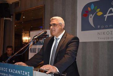 Nίκος Καζαντζής: κατά συνείδηση η παράταξη στον δεύτερο γύρο