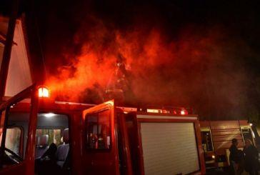 Κατοικία παραδόθηκε στις φλόγες στον Άγιο Νικόλαο Βόνιτσας