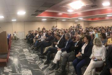 Με ομιλία του στους ετεροδημότες της Πάτρας ξεκίνησε την προεκλογική του εκστρατεία ο Μάριος Σαλμας
