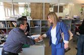Σε Εφορία, ΟΤΕ, Πυροσβεστική, υπηρεσίες του Δήμου και της Περιφέρειας η Χριστίνα Σταρακά