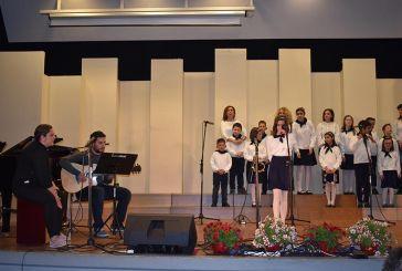 Αγρίνιο: Πλημμύρισε νότες το Παπαστράτειο στην 4η Συνάντηση Σχολικών Χορωδιών (φωτο)