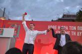 O χαιρετισμός του Σταύρου Καμμένου στην ομιλία Τσίπρα