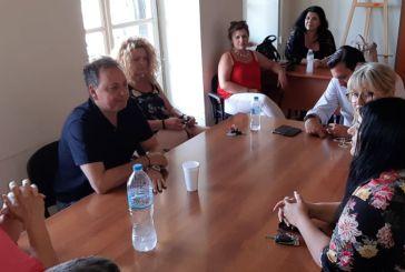 Σπήλιος Λιβανός: επίσκεψη στην ΚΕΚΑΠ Μεσολογγίου