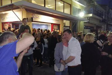 Αστακός: Πανηγυρισμοί στο εκλογικό κέντρο του Γιάννη Τριανταφυλλάκη