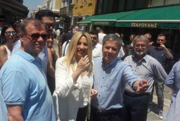 Στο Μεσολόγγι με φορείς ο Βασίλης Αντωνόπουλος – συνάντηση με τη Φώφη Γεννηματά