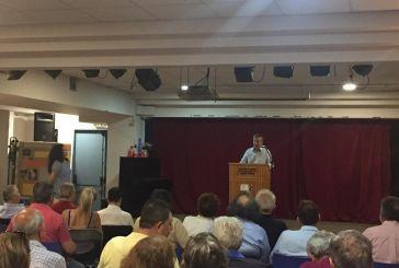 Β. Αντωνόπουλος στους Αιτωλοακαρνάνες της Αθήνας: «Να αναδείξουμε στο κοινοβούλιο ανθρώπους της κοινωνικής προσφοράς»