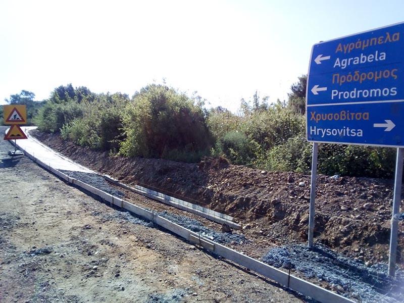 Πρόδρομος Ξηρομέρου – Γουριώτισσα:  Άρχισαν ξανά οι εργασίες ασφαλτόστρωσης (φωτο)