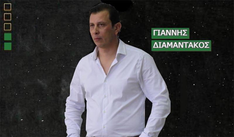 ΑΟ Αγρινίου: συνεχίζει με Διαμαντάκο και Αγρινιώτες παίκτες-στελεχώνεται το επιτελείο