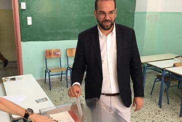 Νεκτάριος Φαρμάκης στην κάλπη : Οι πολίτες της Δυτικής Ελλάδας θα δώσουν το μήνυμα της μεγάλης αλλαγής