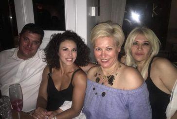 Στο πάρτυ της Μαρίας Καλπουζάνη στην Ναύπακτο (φωτο)