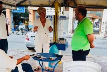 Η Καλπουζάνη έρχεται με φόρα με τη ΝΔ στην Αιτωλοακαρνανία για να «σπάσει το κατεστημένο»