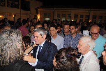 Μεγάλη συγκέντρωση ετεροδημοτών στην ομιλία του Κώστα Καραγκούνη στην Αθήνα (video)