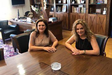 Επίσκεψη και θεσμικές συναντήσεις της Κατερίνας Κιτσάκη στο Μεσολόγγι