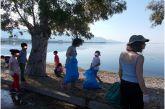 Οι μαθητές του Δημοτικού Σχολείου Σταμνάς καθάρισαν την παραλία του χωριού τους