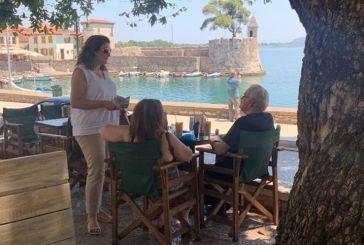 Σε Ναυπακτία, Παρακαμπύλια και Νεάπολη η Κατερίνα Κιτσάκη