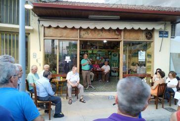 Συγκεντρώσεις ΚΚΕ σε Αγρίνιο και Καινούριο