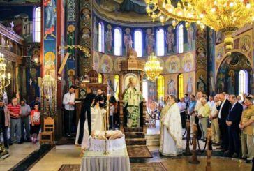 Αρχιερατική Θεία Λειτουργία επί τη μνήμη νεοφανών Αγίων στον Ι.Ν. Αγίας Παρασκευής Ναυπάκτου (φωτο)