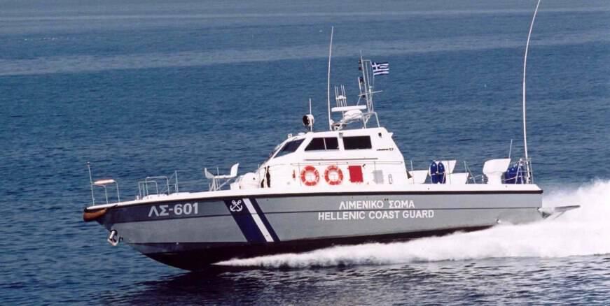 Επειγόντως από τον Κάλαμο στον Μύτικα 77χρονη ασθενής με σκάφος του Λιμενικού