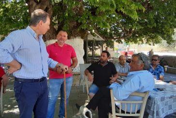 Σπήλιος Λιβανός: Στις προτεραιότητές μου η ανάπτυξη του Ξηρόμερου