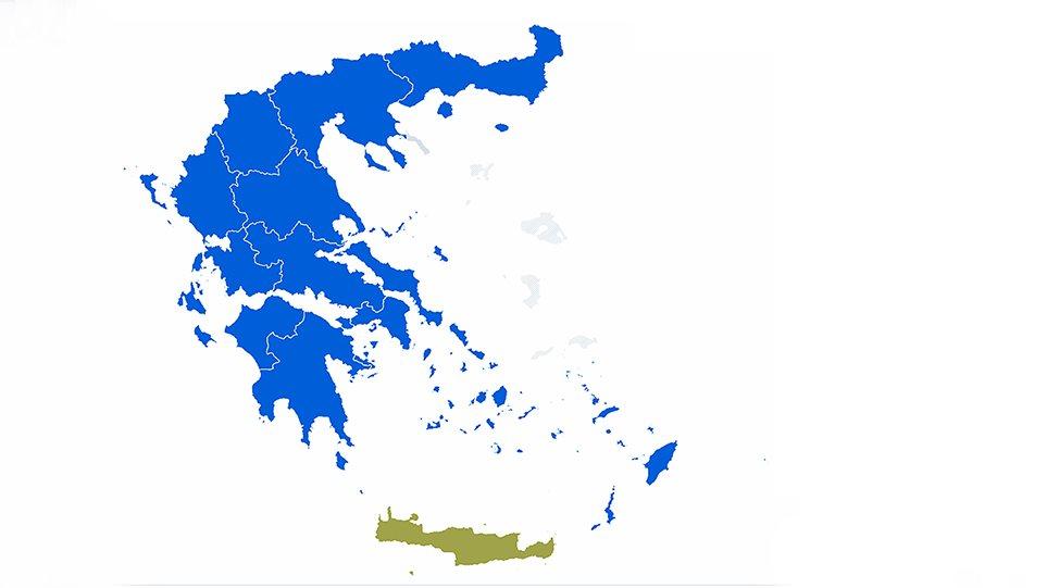 Εκλογές 2019: Μεγάλη νίκη σε περιφέρειες-δήμους για τη ΝΔ – Νέα υποχώρηση για τον ΣΥΡΙΖΑ