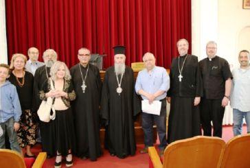 Επίσκεψη υποψηφίων διδακτόρων Θεολογίας από την Αμερική στη Ναύπακτο