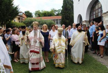 Στην πανηγυρίζουσα Ιερά Μονή Αγίας Τριάδος Εδέσσης ο Μητροπολίτης Ναυπάκτου