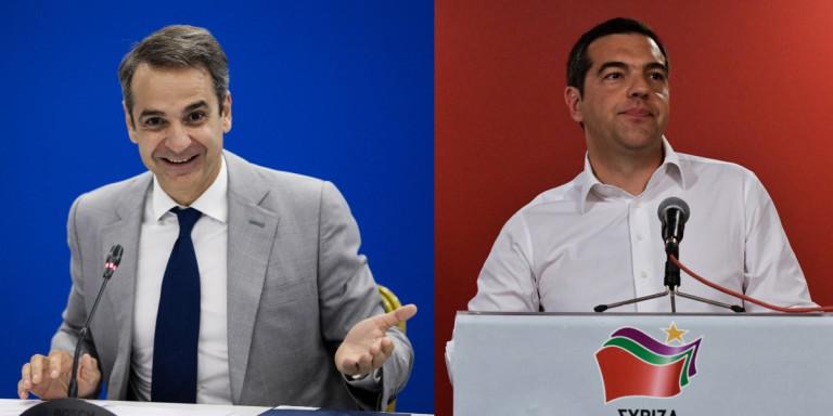 Δημοσκόπηση Metron Analysis: 10,2% η διαφορά ΝΔ και ΣΥΡΙΖΑ