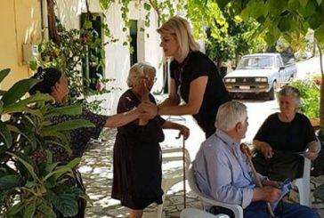 Aφροδίτη Μπουμπούλη: Στα χωριά του Ξηρομέρου περιοδεία με τον αέρα Ξηρομερίτισσας!