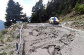 Επικίνδυνο σημείο στο δρόμο Αμπελακιώτισσα-Περδικόβρυση: αυτή την εικόνα αντίκρυσαν σήμερα εκδρομείς