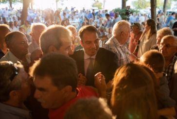 Πλήθος κόσμου στην προεκλογική ομιλία του υποψηφίουβουλευτή Αιτωλοακαρνανίας Θανάση Παπαθανάση