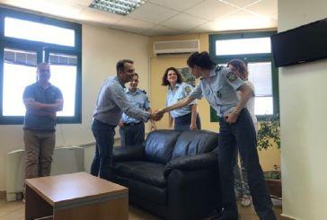 Επίσκεψη Θ. Παπαθανάση σε Πυροσβεστική Αγρινίου και Διεύθυνση Αστυνομίας Ακαρνανίας