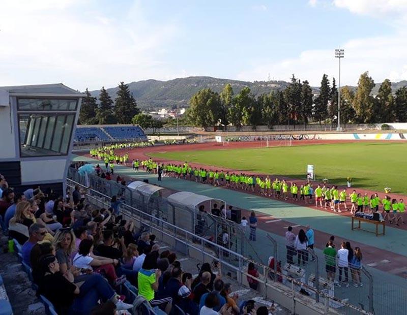 """Μεγάλη συμμετοχή στους παιδικούς αγώνες στίβου """"Run & Fun"""" στο Αγρίνιο (φωτο)"""