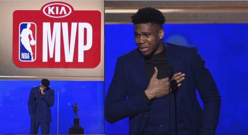 Τα δάκρυα του παιδιού από τα Σεπόλια, που έφτασε στο Μιλγουόκι, για να γίνει MVP του NBA