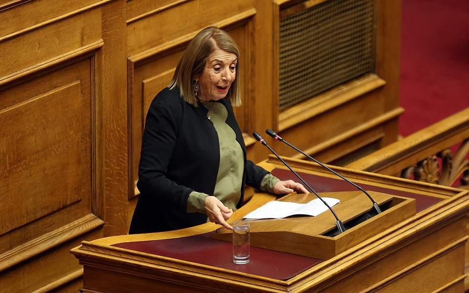 Τασία Χριστοδουλοπούλου: Ζητώ συγγνώμη, δεν θα είμαι υποψήφια