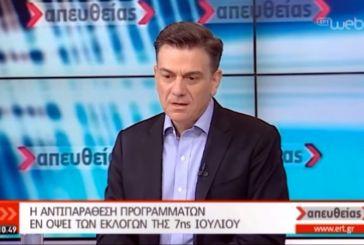 Ο Θάνος Μωραΐτης στην ΕΡΤ: «Δίνουμε μια μάχη για να την κερδίσουμε» (video)