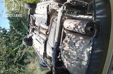 Ανατροπή οχήματος κοντά στη Βόνιτσα – οι ζώνες έσωσαν δύο γυναίκες