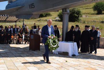 Ο Γ. Βαρεμένος εκπροσώπησε τη Βουλή στην τελετή μνήμης Πεσόντων Αεροπόρων στο Θέρμο