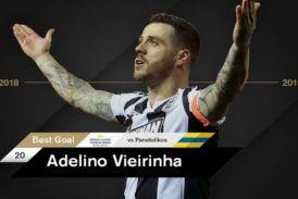 Οι οπαδοί του ΠΑΟΚ ψήφισαν τη… ρουκέτα του Βιεϊρίνια με τον Παναιτωλικό ως το best goal της σεζόν