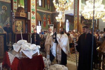 Λαμπρός ο εορτασμός της  Αγίας Παρασκευής στην Πάλαιρο (φωτο)