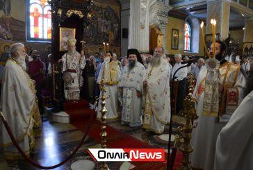 Μεσολόγγι: Με λαμπρότητα πανηγύρισε ο Ιερός Ναός Αγίας Παρασκευής