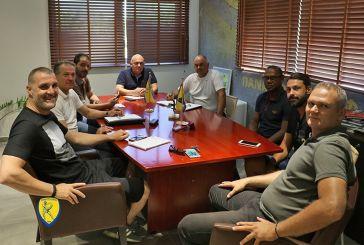 Τζούνιορ και Ξανθόπουλος έτοιμοι για δουλειά στα Τμήματα Υποδομής του Παναιτωλικού