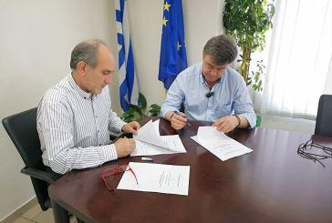 Προγραμματική σύμβαση για τη βελτίωση του δρόμου Κατούνα – Λουτράκι