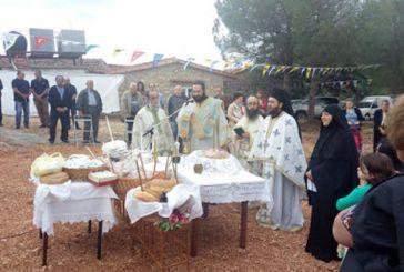 Θυρανοίξια στο παρεκκλήσι της Αγίας Μαρίνας στην Κατούνα