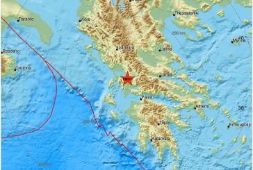 Επίκεντρο δυνατού σεισμού η Αιτωλοακαρνανία