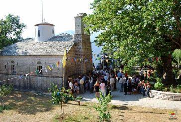 Αμπελακιώτισσα Ναυπακτίας: Υποδοχή Ιερού Λειψάνου του Αγίου Πολυκάρπου