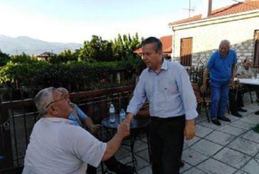Στη Μακρυνεία ο Βασίλης Αντωνόπουλος: «Η προσοχή μας είναι στραμμένη στα χωριά μας»