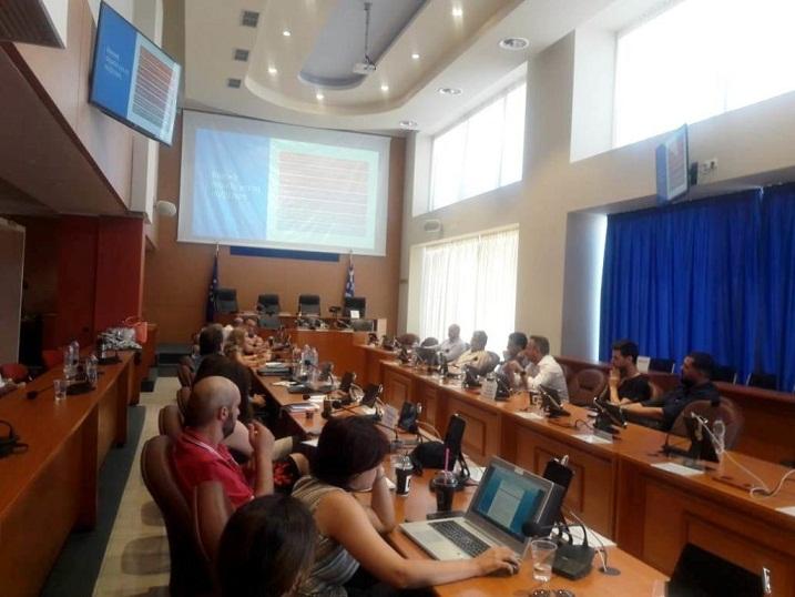 Συνάντηση εργασίας στο Αγρίνιο για τη χαρτογράφηση του επιχειρηματικού οικοσυστήματος στη Δυτική Ελλάδα
