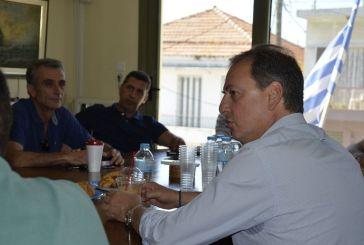 Σπήλιος Λιβανός: ενημερωτική επίσκεψη στην Ένωση Αγροτικών Συνεταιρισμών Μεσολογγίου