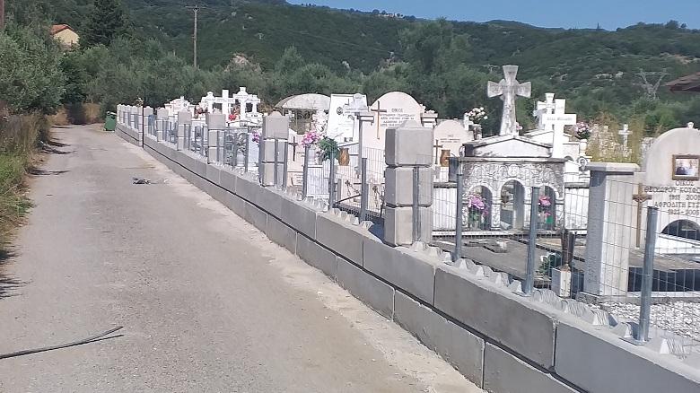Εργασίες συντήρησης σε κοιμητήρια του δήμου Αγρινίου
